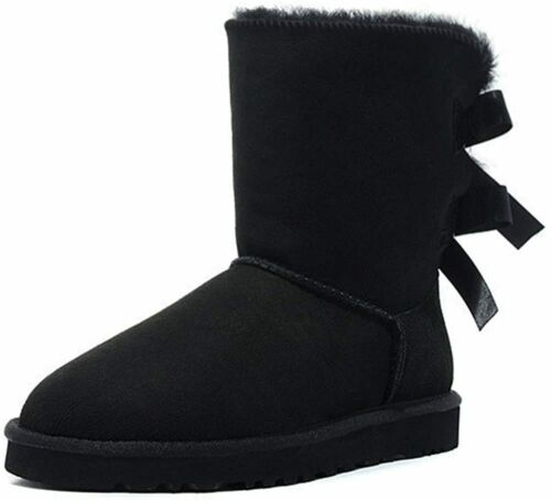 Details about  /JOY IN LOVE Women/'s Snow Boots for Winter Mid-Calf high Back Bows