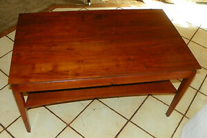 rp-ct43 Post-1950 Furniture Solid Walnut Mid Century Coffee Table