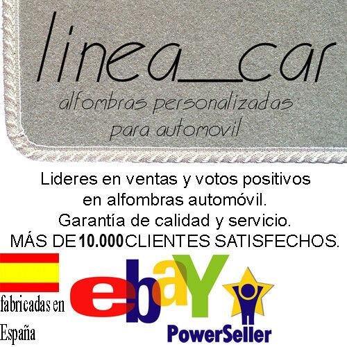 Alfombrillas Renault Laguna de  2001 a 2008 a medida