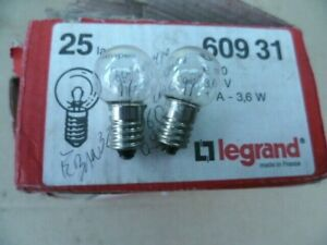 Legrand-060931-2-Lamps-for-Block-of-Security-D-039-Building-E10-3-6V-1A-3-6W