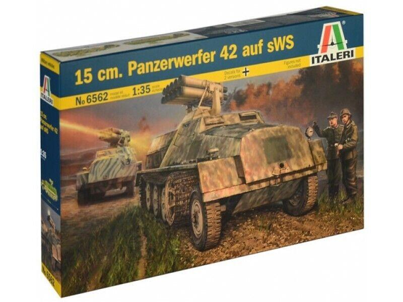 Italeri 1 35 scale WW2 German 15CM PANZERWERFER 42
