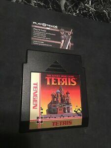 Genuine-Tengen-The-Soviet-Mind-Game-Tetris-Nintendo-NES-Cartridge-Only-READ