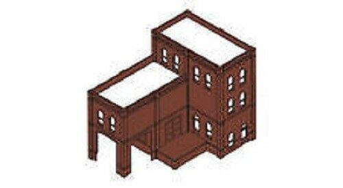 Woodland Scenics DPM - 4 In 1 Modular Kit Industry Warehouse Kit HO Scale35200