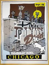 2013 The Pixies - Chicago -Silkscreen Concert Poster by Mike Cooney