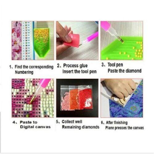Full Drill 5D DIY Diamond Painting Mosaic Tinker Bell Cross Craft Stitch Kits