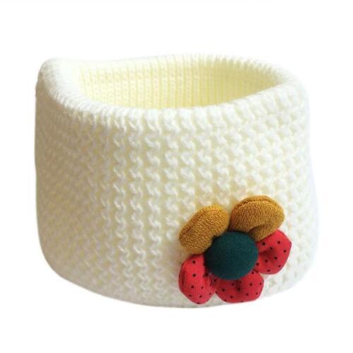 Child Kids Snood Scarf Winter O-ring Knit Baby Girls Neck Warp Warm Neckerchief