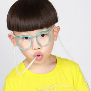 Unique-Glasses-Straw-Flexible-Drinking-Tube-Kids-Adults-Drink-Party-Gift-Soft