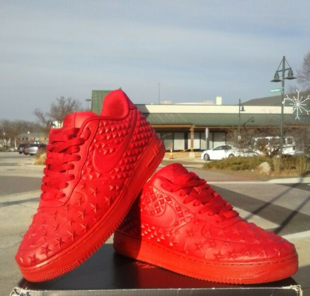 Nike Air Force 1 LV8 VT All Star Independence Day Gym Red Size 11.5