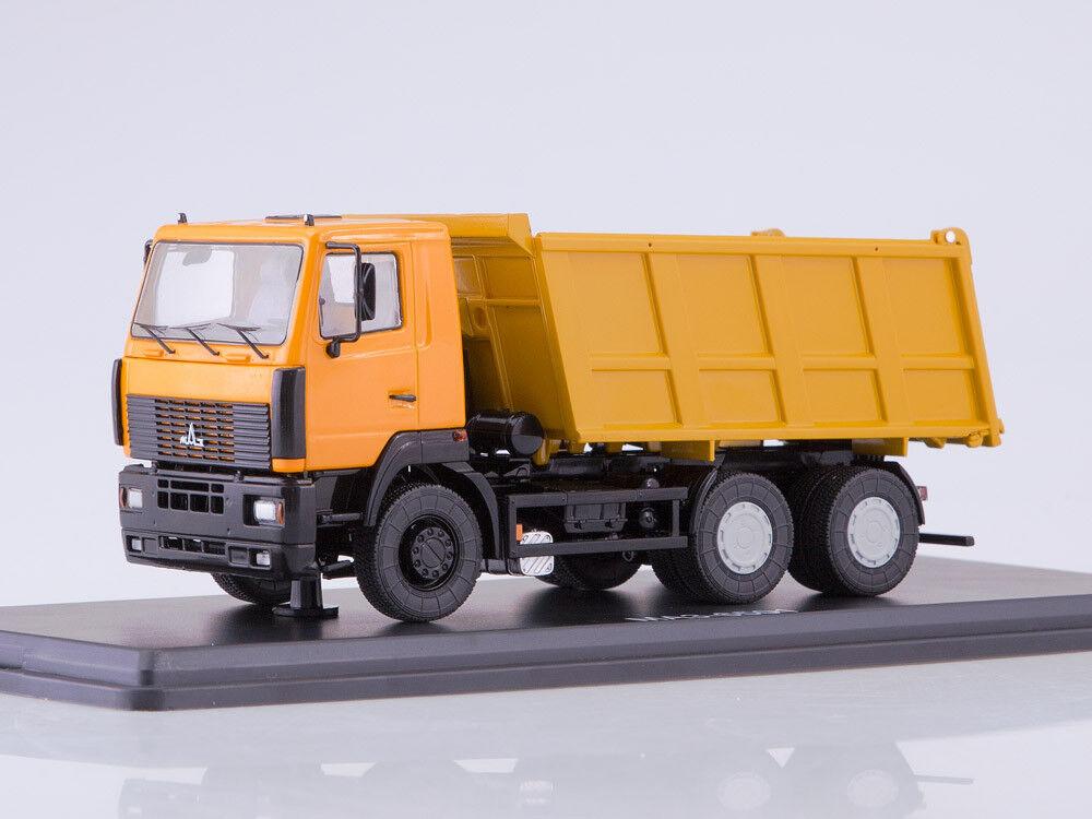 Camion modellololo di scala 1 43 MAZ-6501 (cabina bassa, senza sacco a pelo) camion di sautoico