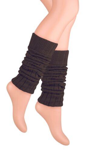 Nuevo Mujeres Damas Niñas De Lana Cardada Legwarmers caliente de invierno con estilo Mejor Calidad