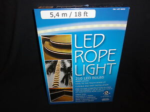 Led rope light 18 ft 54 m indoor and outdoor use by everstar ebay image is loading led rope light 18 ft 5 4 m aloadofball Images