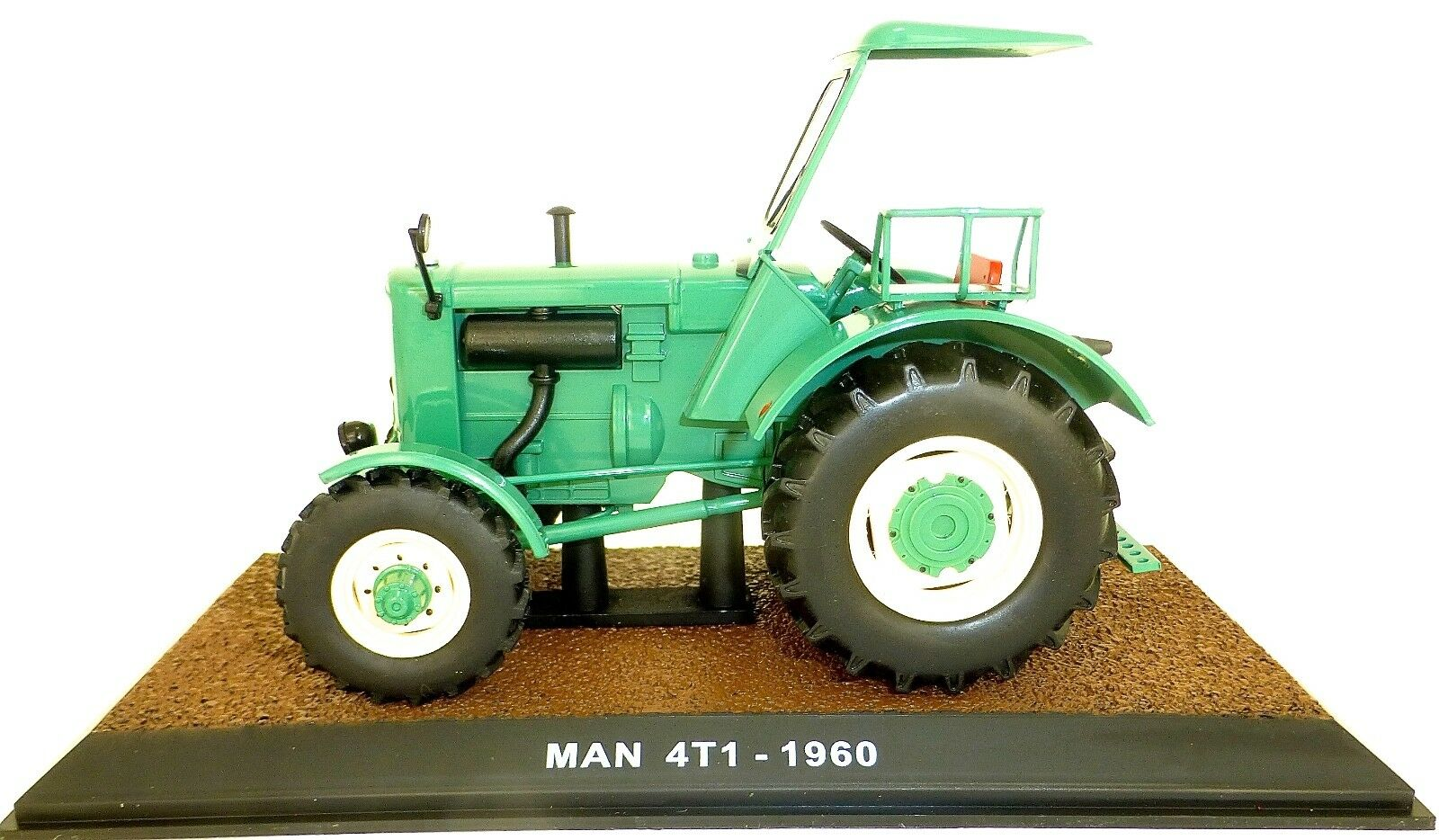 Man 4t1 1960 green Tracteur Atlas 1 3 2 Emballage D'Origine 012 Neuf Lj1 Μ