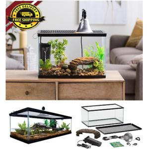 10-Gallon-Turtle-and-Aquatic-Reptile-Habitat-Starter-Kit-Aquarium-Filter-Lamp