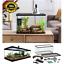 10-Gallon-Turtle-and-Aquatic-Reptile-Habitat-Starter-Kit-Aquarium-Filter-Lamp thumbnail 1