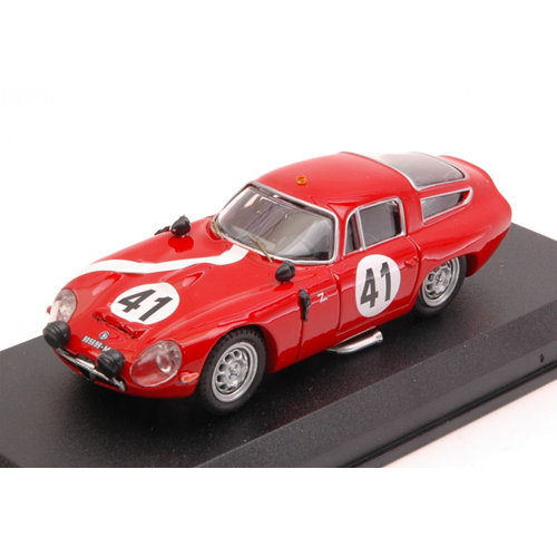 ALFA ROMEO TZ1 N.41 15th LE MANS 1964 G.BISCALDI-G.SALA 1 43 Best Model
