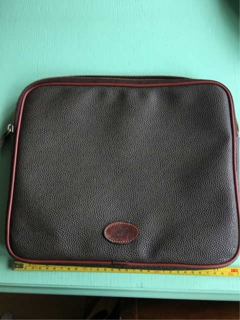 Cover, Perfekt, Mulberry scotchgrain cover til iPad eller…