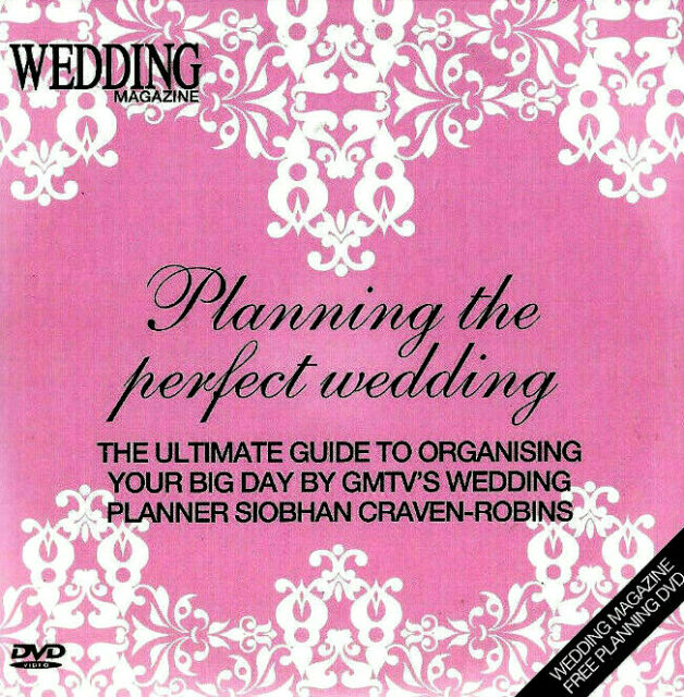 PROMO DVD originally from a magazine PLANNING THE PERFECT WEDDING 90mins dvd