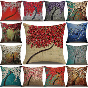 Am-3D-Branch-Flower-Throw-Pillow-Protector-Case-Cushion-Cover-Bed-Bedding-Artic