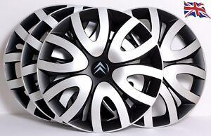 """CITROEN, 4 x 16 INCH ALLOY LOOK CAR WHEEL TRIMS / COVERS,16"""" HUB CAPS, model QL7"""