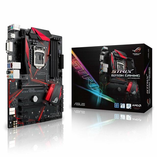 ASUS Republic of Gamers STRIX B250H GAMING Motherboard Intel Socket LGA1151