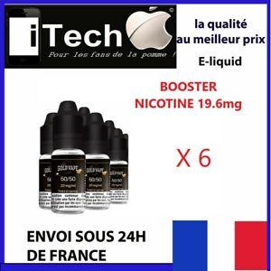 Pack-Booster-Nicotine-20mg-10-ml-DIY-X-6-Flacons-E-Liquide-fabrique-FRANCE