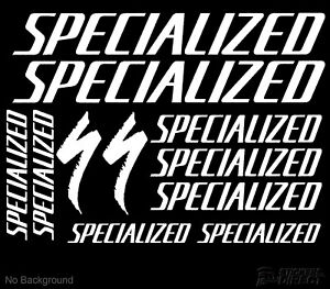 Specialized-Decals-Set-of-11-Cycling-Bike-Stickers-Outdoor-Grade-Vinyl-AnyColour