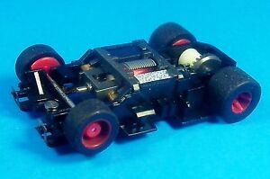 HO Tyco Mattel Slot Car 440 X2 Wide Pan Chassis,6.5 OHM Pro4 Super Foam Tires