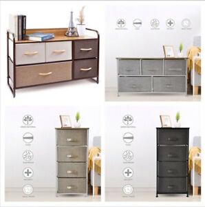 Drawer-Fabric-Storage-Table-Organizer-Display-Dresser-Cabinet-Furniture-Various
