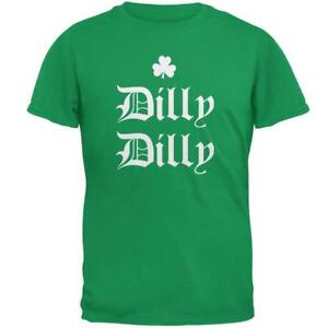 928f06da7 Image is loading St-Patricks-Day-Dilly-Dilly-Shamrock-Mens-T-