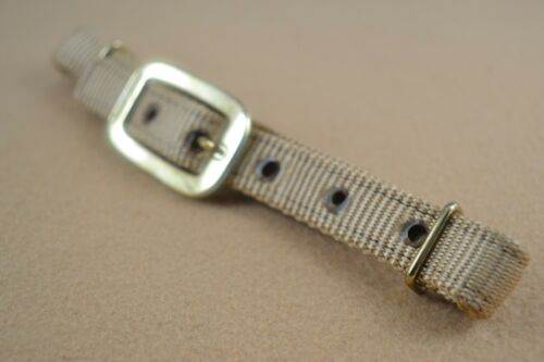 """3//4/"""" Nylon Connector Strap Brass Plated Hardware Flank Pack of 2 F310"""