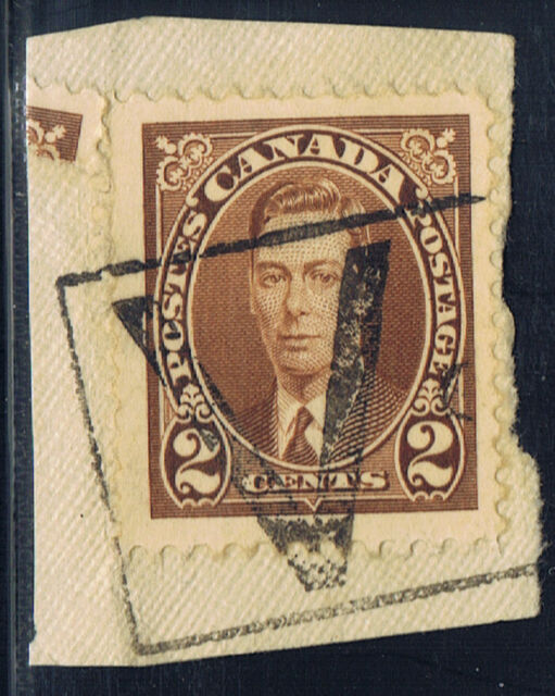 Canada #232(2) 1937 2 cent brown KING GEORGE VI