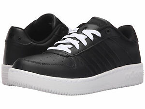 official photos f9a25 7e392 Image is loading Men-Adidas-Neo-Team-Court-Sneakers-AQ1290-Black-