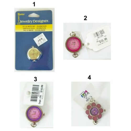 Wrist Watches for Jewelry Making Charms Bracelets and Necklaces New