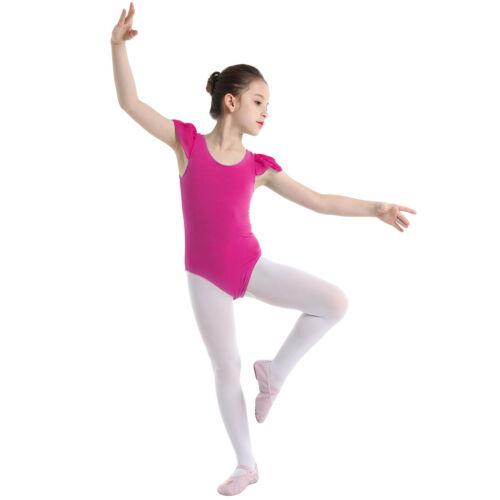Kids Girls Ballet Dress Leotard Tutu Skirt Gymnastics Dancewear Costume Outfits