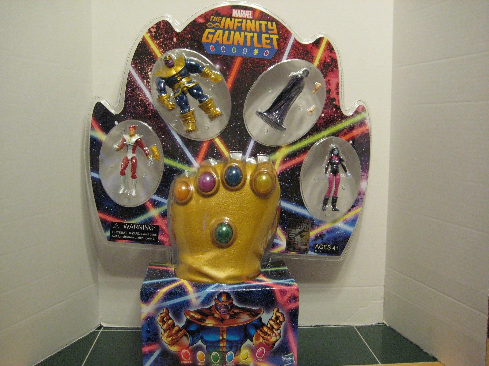 MARVEL SDCC  2014 Comic Con The Infinity Gaunlet Set Thanos Marvel`s Star Fox  vente