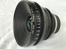 ***Excellent Condition***Zeiss CP.2 T* 25 mm T2.1 Lens EF Canon Mount Full Frame