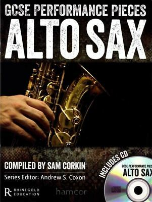 Gcse Performance Pieces Alto Sax Saxophone Exam Pop Sheet Music Book/cd Wind & Woodwinds Instruction Books, Cds & Video