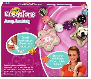 Crayola Creations Jazzy Jewellery Craft Kit Ebay