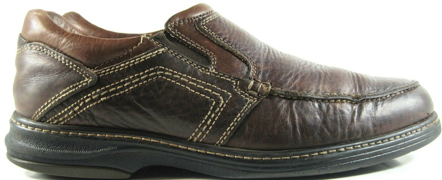 Johnston Murphy Men Leather Loafer shoes Size 9 M Sheepskin Insoles.  ZZZ 31