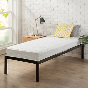 Zinus Spring 6 Inch Mattress, Narrow Twin/Cot Size/RV Bunk/Guest Bed