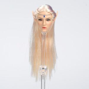 "Lucifer 1//6 Elf Queen Emma Head Sculpt Carving Model Toy for 12/"" Figure Body"