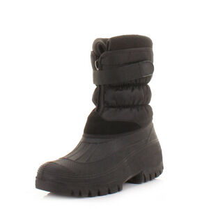 Mens-Snow-Wellies-Wellington-Mucker-Outdoor-Yard-Waterproof-Boots-Size-7-12