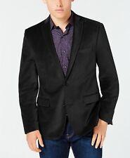 Bar Iii Velvet Slim Fit Sport Coat 38s Black Smoking Jacket