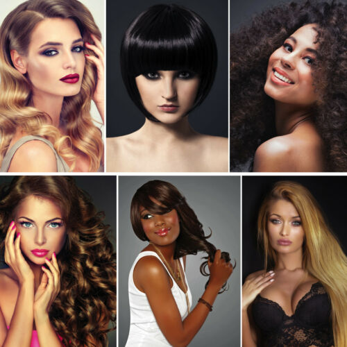 FEMALE HAIR DESIGN FRAMES AVAILABLE HAIR DRESSER SALON POSTERS UPTO A0 SIZE