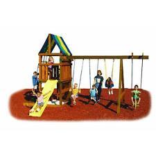 Swing N Slide Alpine Custome Ready-To-Build Swing Set Kit