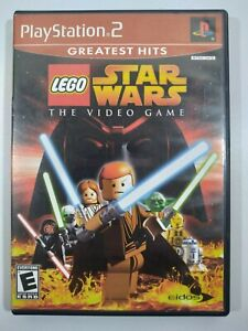 LEGO Star Wars: The Video Game Greatest Hits Sony PlayStation 2 PS2 No Manual