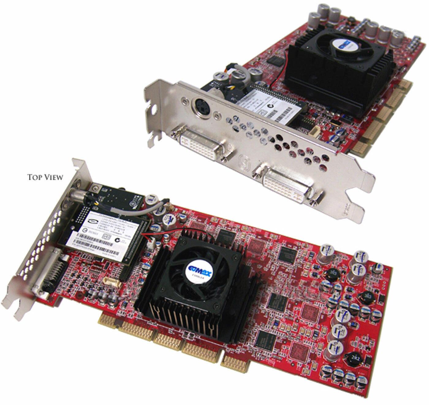 ATI FireGL Z1 128MB Dual-DVI AGP-PRO Video New 313286-001 3D Graphics Board