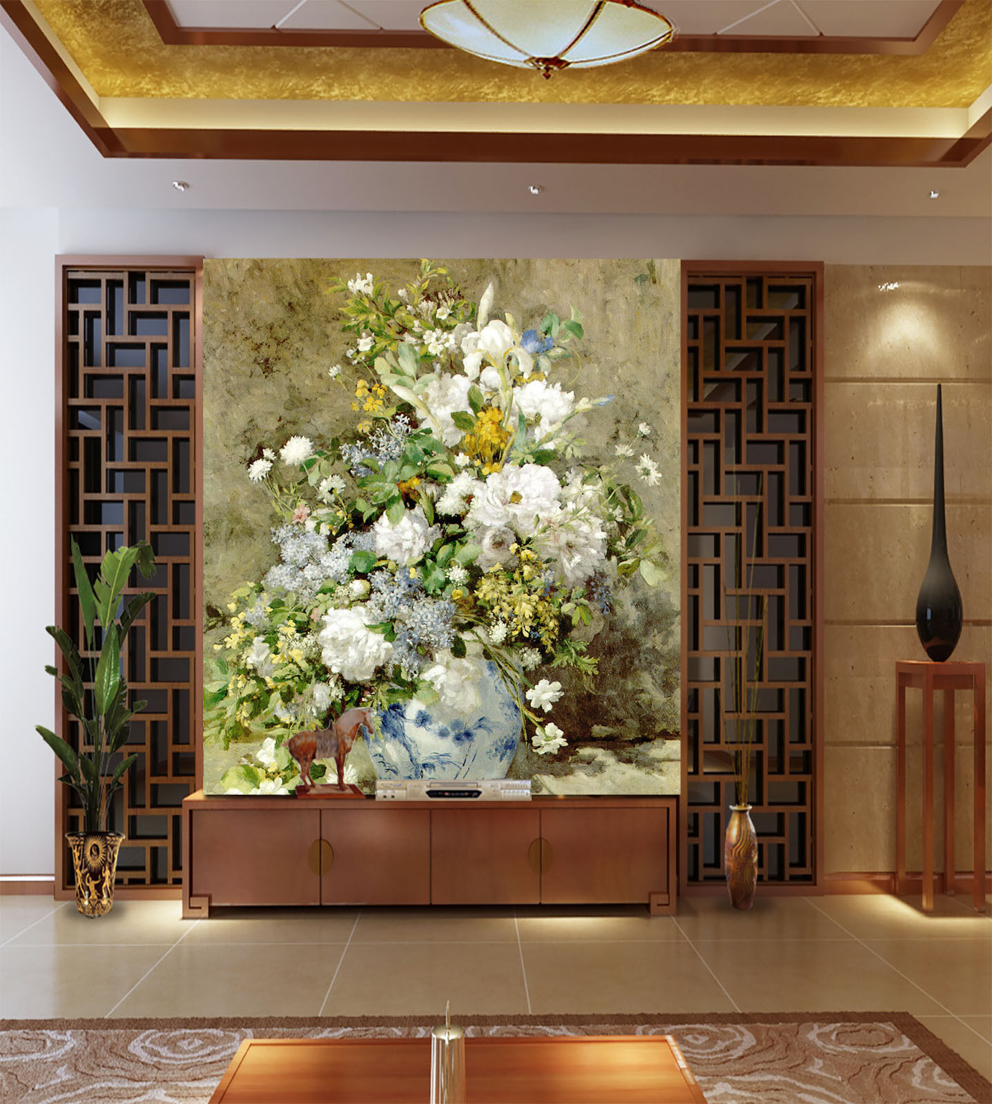 3D Florale kunst 0676721 Fototapeten Wandbild Fototapete BildTapete Familie DE