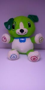 LeapFrog-My-Pal-Scout-Green-Talking-Musical-Dog-Plush-Stuffed-Interactive-Toy