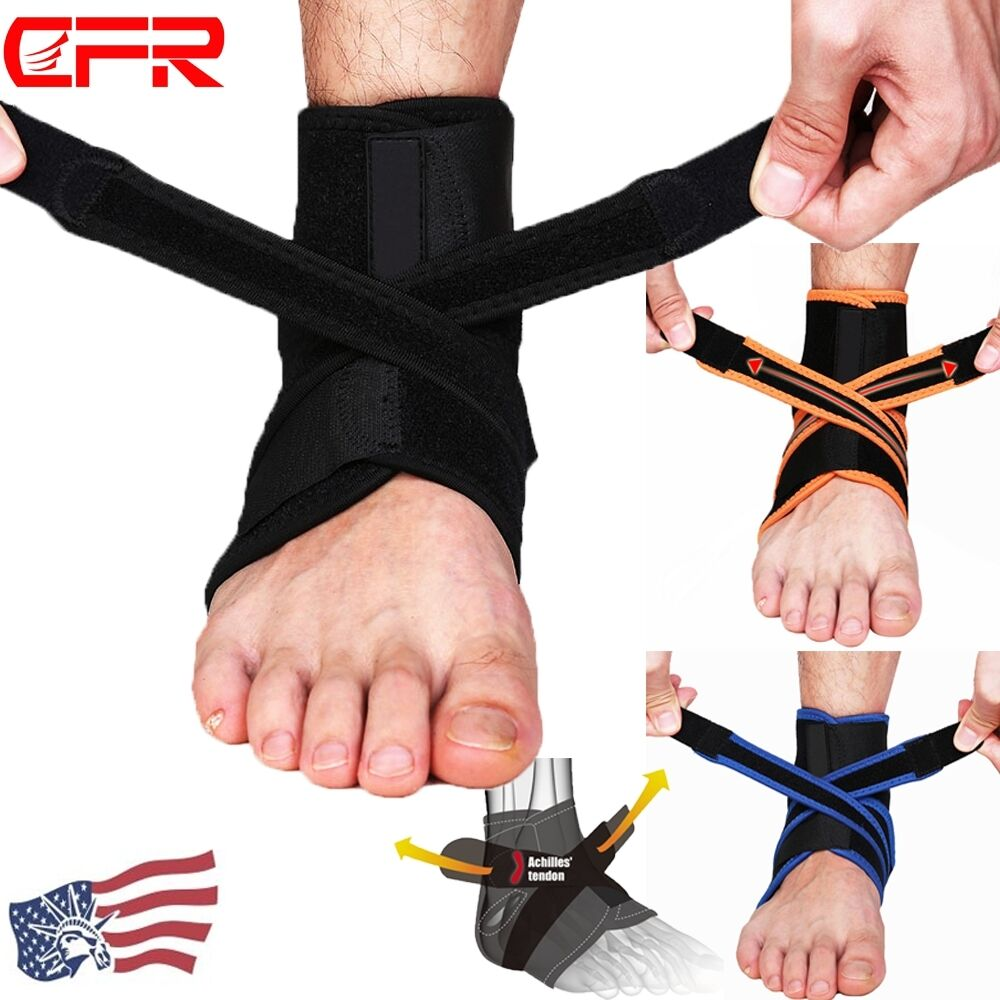 Ankle Brace Ankle Support Socking Compression Sport Injury Protective Guard US D 1